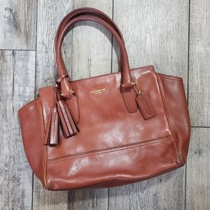 Coach legacy Candace carryall brown purse 19891